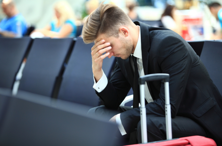 Strach na letišti